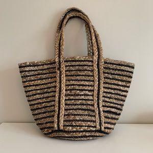 Zara Jute Bag NWOT
